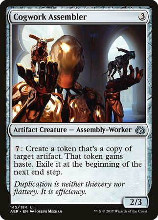 Cogwork Assembler [Aether Revolt] | Black Knight Games
