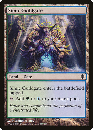 Simic Guildgate [Commander 2013] | Black Knight Games