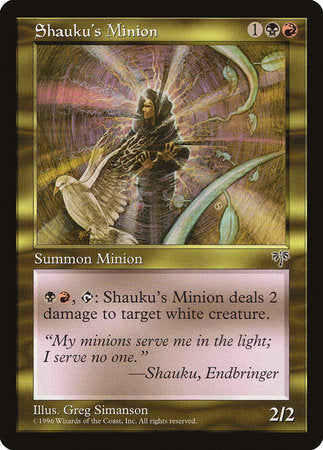 Shauku's Minion [Mirage] | Black Knight Games
