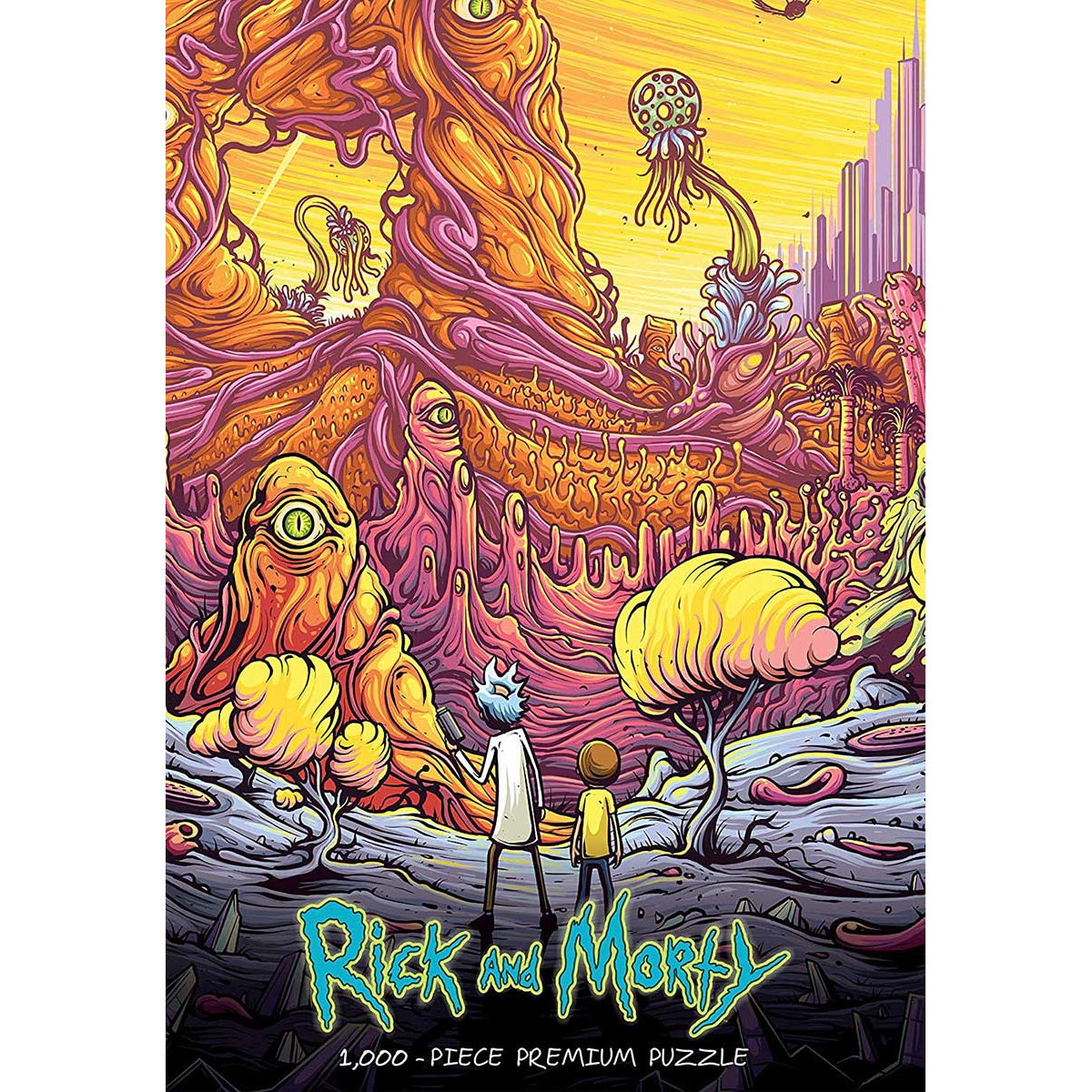Puzzle: Rick and Morty (1000 pc) | Black Knight Games
