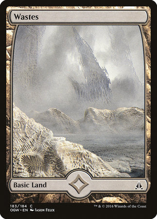 Wastes (183) - Full Art [Oath of the Gatewatch] | Black Knight Games