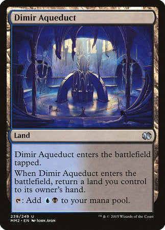 Dimir Aqueduct [Modern Masters 2015] | Black Knight Games