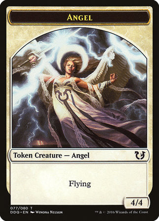 Angel Token [Duel Decks: Blessed vs. Cursed] | Black Knight Games