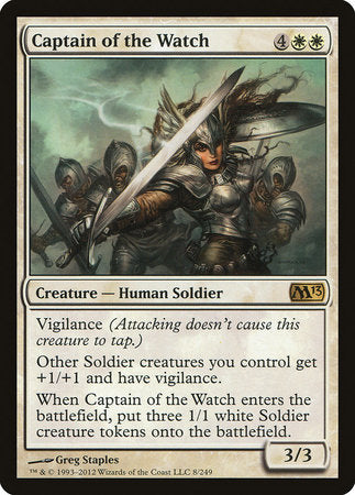 Captain of the Watch [Magic 2013] | Black Knight Games