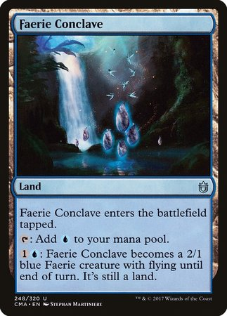 Faerie Conclave [Commander Anthology] | Black Knight Games