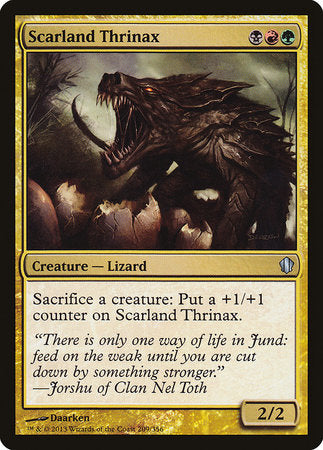 Scarland Thrinax [Commander 2013] | Black Knight Games