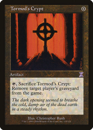 Tormod's Crypt [Time Spiral Timeshifted] | Black Knight Games