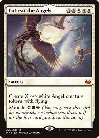 Entreat the Angels [Modern Masters 2017] | Black Knight Games