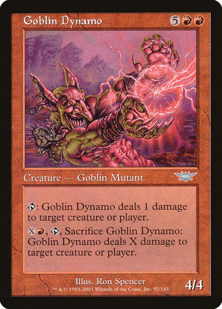 Goblin Dynamo [Legions] | Black Knight Games