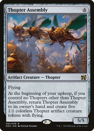 Thopter Assembly [Duel Decks: Elves vs. Inventors] | Black Knight Games