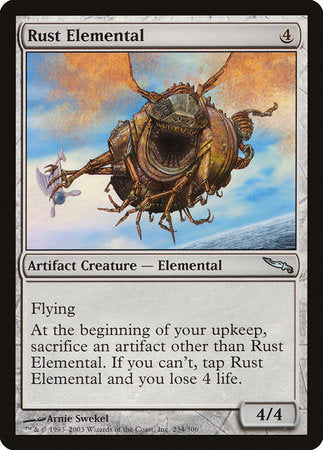 Rust Elemental [Mirrodin] | Black Knight Games