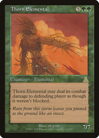 Thorn Elemental [Urza's Destiny] | Black Knight Games