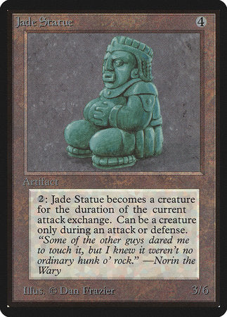Jade Statue [Limited Edition Beta] | Black Knight Games