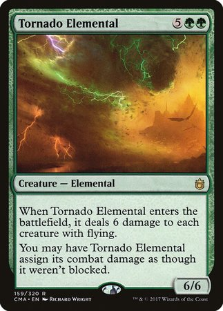 Tornado Elemental [Commander Anthology] | Black Knight Games