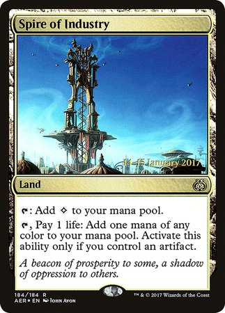 Spire of Industry [Aether Revolt Promos] | Black Knight Games