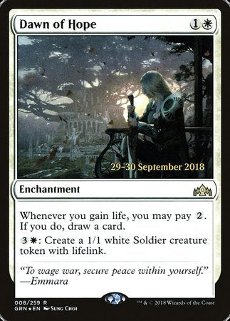 Dawn of Hope [Guilds of Ravnica Promos] | Black Knight Games