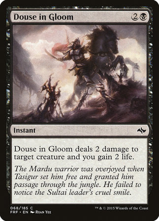 Douse in Gloom [Fate Reforged] | Black Knight Games
