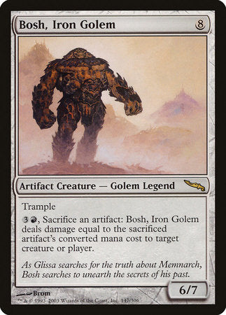 Bosh, Iron Golem [Mirrodin] | Black Knight Games