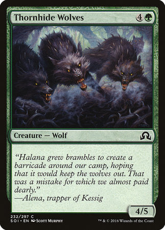 Thornhide Wolves [Shadows over Innistrad] | Black Knight Games