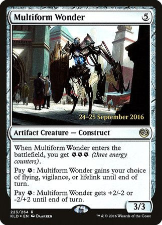 Multiform Wonder [Kaladesh Promos] | Black Knight Games