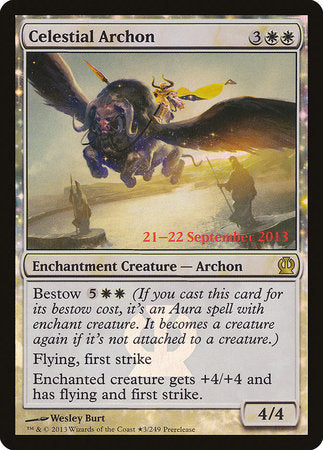Celestial Archon [Theros Promos] | Black Knight Games