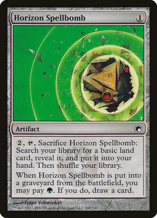 Horizon Spellbomb [Scars of Mirrodin] | Black Knight Games