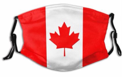 Themed Mask: Canada Flag