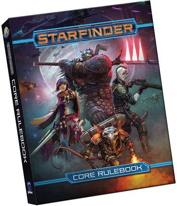 Starfinder RPG: Core Rulebook Pocket Edition | Black Knight Games