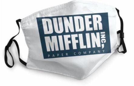 Themed Mask: The Office - Dunder Mifflin