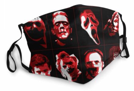 Themed Mask: Horror Icons