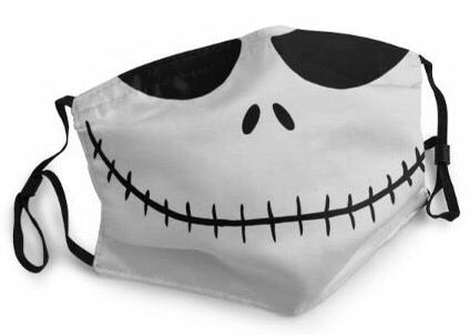 Themed Mask: Jack Skellington