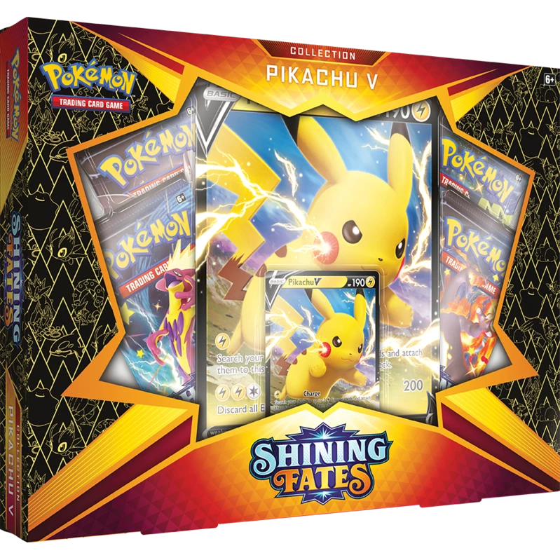 Shining Fates Pikachu V Box | Black Knight Games