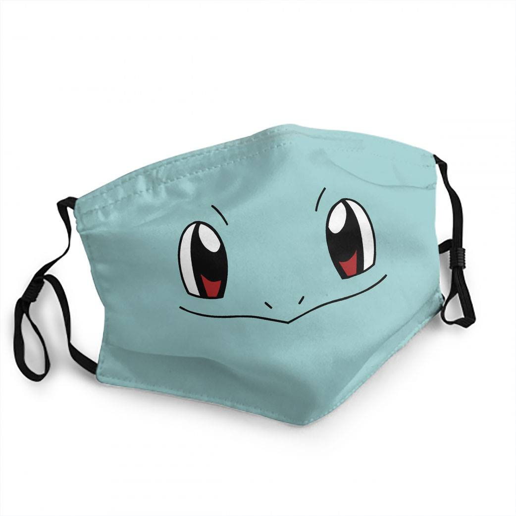 Themed Mask: Pokémon Squirtle | Black Knight Games
