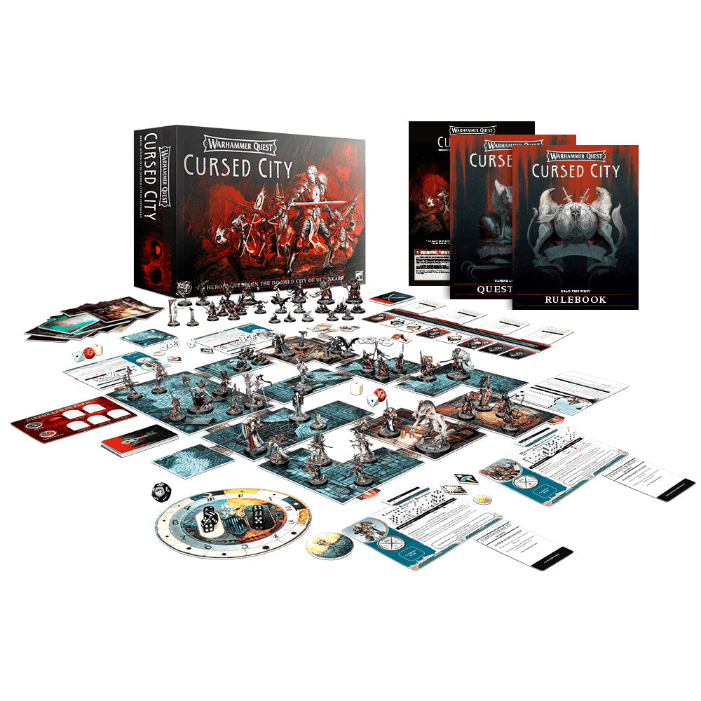 Warhammer Quest: Cursed City | Black Knight Games