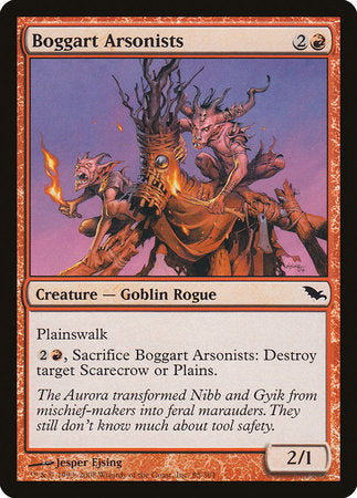 Boggart Arsonists [Shadowmoor] | Black Knight Games