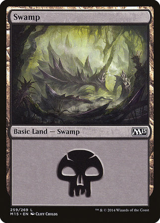 Swamp (259) [Magic 2015] | Black Knight Games