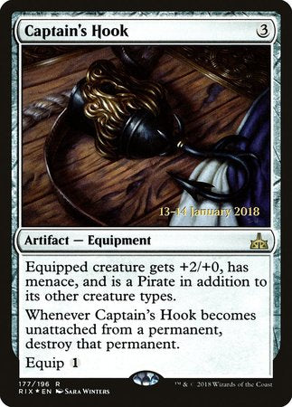 Captain's Hook [Rivals of Ixalan Promos] | Black Knight Games