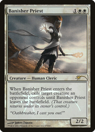 Banisher Priest [Friday Night Magic 2014] | Black Knight Games
