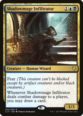Shadowmage Infiltrator [Commander 2017] | Black Knight Games