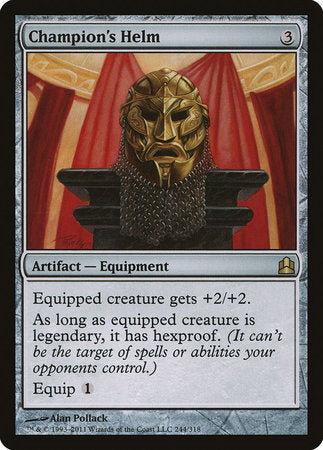 Champion's Helm [Commander 2011] | Black Knight Games