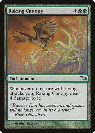 Raking Canopy [Shadowmoor] | Black Knight Games