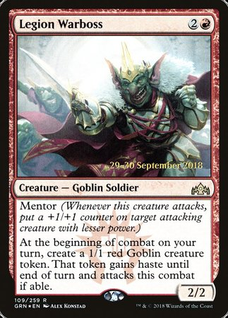 Legion Warboss [Guilds of Ravnica Promos] | Black Knight Games