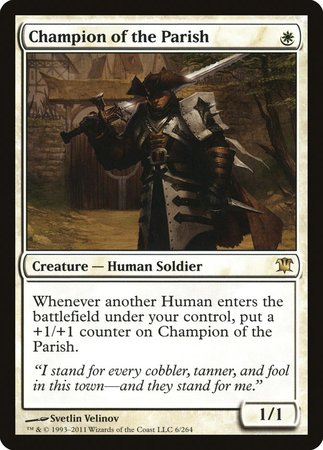 Champion of the Parish [Innistrad] | Black Knight Games