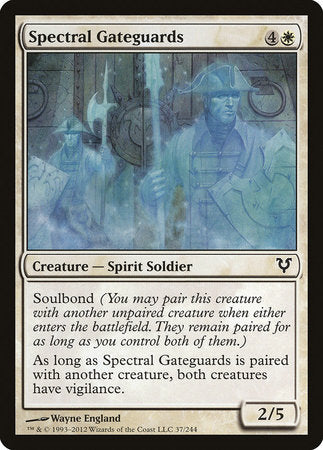 Spectral Gateguards [Avacyn Restored] | Black Knight Games