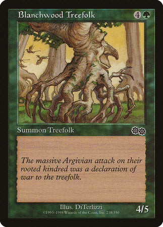 Blanchwood Treefolk [Urza's Saga] | Black Knight Games