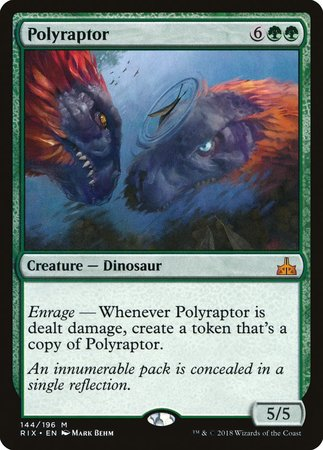 Polyraptor [Rivals of Ixalan] | Black Knight Games