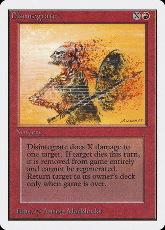 Disintegrate [Unlimited Edition] | Black Knight Games