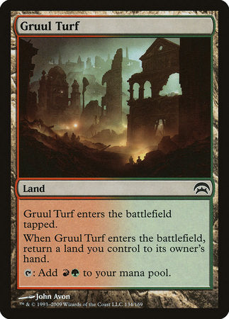 Gruul Turf [Planechase] | Black Knight Games
