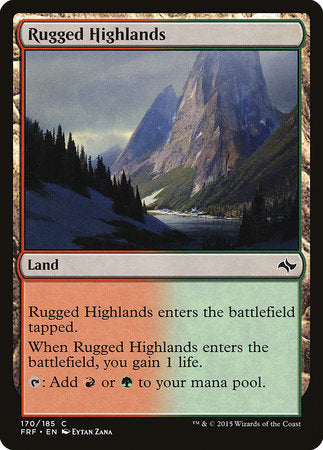 Rugged Highlands [Fate Reforged] | Black Knight Games