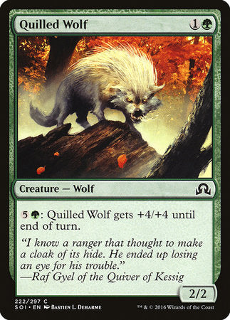 Quilled Wolf [Shadows over Innistrad] | Black Knight Games